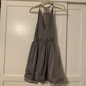 Metallic Bebe Dress